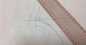洋裁教室コモノ・型紙作成0